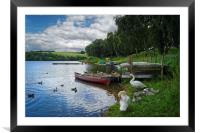 On the Banks of Ulley                       , Framed Mounted Print