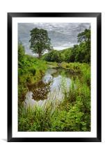 Shepherd  Wheel Dam                             , Framed Mounted Print
