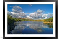 Burrator Reservoir                      , Framed Mounted Print