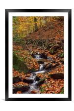 Porter Clough in Autumn                           , Framed Mounted Print