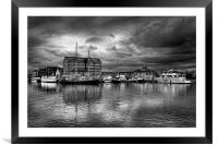 Gloucester Docks                               , Framed Mounted Print