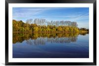 Chard Reservoir                             , Framed Mounted Print