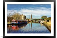 Victoria Quays, Sheffield                         , Framed Mounted Print