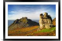 Valley of the Rocks                        , Framed Mounted Print