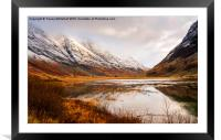 Reflections of Winter, Framed Mounted Print