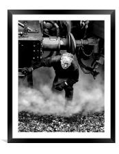 Its a Hard Life, Framed Mounted Print