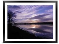 River Axe Axmouth, Framed Mounted Print