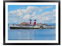 WAVERLEY AT LARGS, Framed Mounted Print