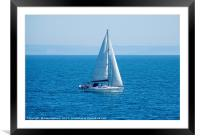 Calm Waters, Framed Mounted Print