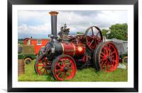 Evedon Lad, Framed Mounted Print