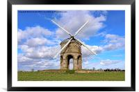 Chesterton Windmill Warwickshire, Framed Mounted Print