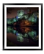 Lumieres Light, Framed Mounted Print