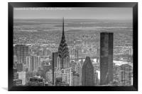 Chrysler building, New York City , Framed Print