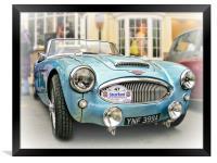 British Sports Car, Framed Print
