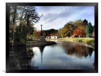Altisidora inn, bishop burton, yorkshire,, Framed Print