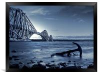 Forth Rail Bridge Scotland, Framed Print