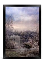 Wonderful Winterland, Framed Print