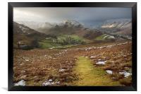 Martindale A Cumbrian Splendor, Framed Print