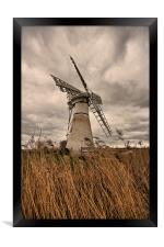 Thurne Mill, Norfolk, Framed Print
