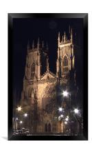 York Minster, Framed Print
