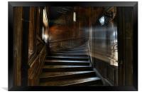 Oak Stairs, Framed Print