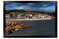 Lyme Regis Canvases & Prints, Framed Print