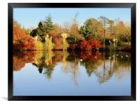 Wakehurst In Autumn, Framed Print