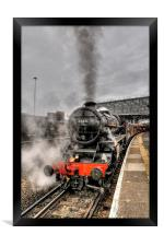 Black Five 44871 Steam Train, Framed Print