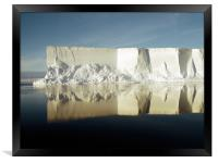 Iceberg Ross Sea Antarctica, Framed Print