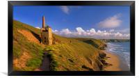 Wheal Coates & North Cornwall Coastline, Framed Print