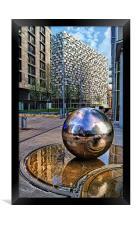 Millennium Square, Sheffield City Centre, Framed Print