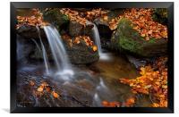 Porter Clough Falls                              , Framed Print