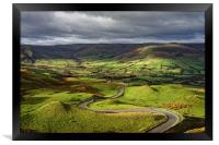 The Long and Winding Road                         , Framed Print