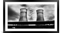 Tinsley Towers, Framed Mounted Print