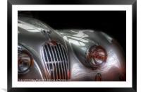 Silver dream machine, Framed Mounted Print