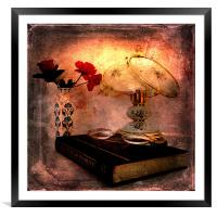 A Light on the Subject, Framed Mounted Print