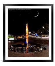 Steel City, Framed Mounted Print