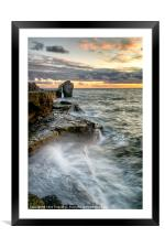 Sunset at the Pulpit (2), Framed Mounted Print