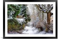 Christmas on the Chase, Framed Mounted Print