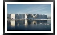 Iceberg Ross Sea Antarctica, Framed Mounted Print