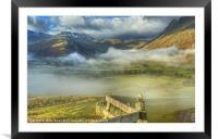 Langdale, Lake District, Framed Mounted Print
