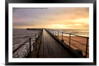 Start of the day, Framed Mounted Print