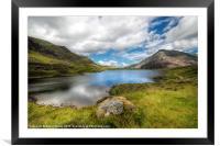 Idwal Lake Snowdonia, Framed Mounted Print