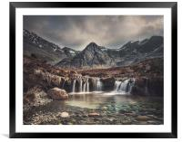 Fairy Pools, Framed Mounted Print