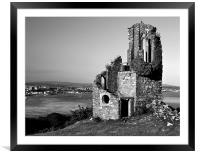 Mount Edgcumbe Folly, Framed Mounted Print