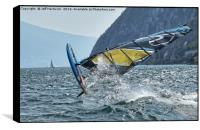 Crazy Windsurfer, Box Print