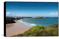 View over Newquay, Box Print