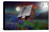 the little cabin , Box Print