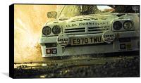 Opel Manta up close and personal