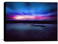 Sunset Over Troon Beach